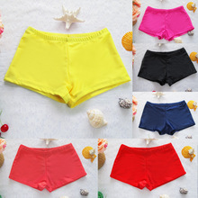 women shorts 2017 swimsuit shorts sexy women brief bathing suits swimwear underwear female boxer swimming trunks boxer shorts(China)