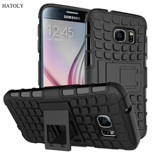For Samsung Galaxy S7 Case G9300 Heavy Duty Armor Shockproof Hybrid Hard Soft Rubber Silicone Phone Cover for Samsung S7 *<