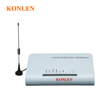 Gsm Fixed Wireless Terminal Connect Desktop Phones or Telephone Line PSTN Alarm System by insert Sim Card to Make Call