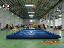 cheap water playground swimming pools with free pool pumps(China)