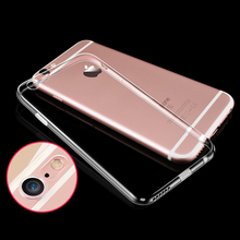 Nephy Clear Cover For iPhone 7 4 5 6 s c 4s 5s 5C SE 6s Plus 7Plus 6plus 6splus Mobile Phone Case Soft TPU Silicone Ultrathin(China)