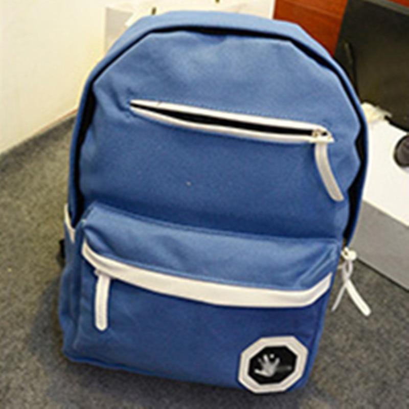 Elegant Canvas Schoolbag Backpacks Casual Traveling Bag Backpacks Adjustable Straps<br><br>Aliexpress