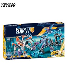 (YNYNOO)2017 NEW Bela 10594 Nexus Knights Building Blocks set Lance VS. Lighting Kids gift bricks toys compatible - Diana Little Store store