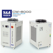 Teyu S&A Chiller CW-6000 3000W cooling capacity (2.7KW-8.5KW) industrial water chiller for cooling 200W 300W CO2 laser tube