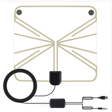 50 Mile HDTV Antenna Indoor Long Range Amplified HD Digital TV Antenna Signal Booster Upgraded Version for Geniatech MyGica TV(China)
