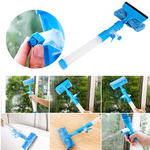 2017 New product high quality Multi-Function Window Glass Cleaner Spray Water Glass Cleaning Brush Pennello di Pulizia(China)