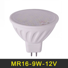LED Lamp MR16 9W LED Light 12V SMD5730 LED Bulb Spotlight Dimmable Ceramic Chandelier Spot Lights Home Decoration Lighting