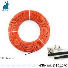 Low Cost Carbon Warm Floor Cable Carbon Fiber Heating Wire Electric Hotline New Infrared Heating Cable