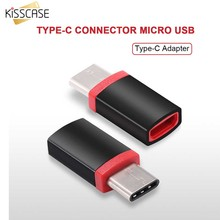 KISSCASE USB 3.1 Type-C Connector Micro USB Adapter Type C Converter For Xiaomi 4c 4s 5 For Xiaomi 2 For Oneplus Nubia Z11 Mini(China)