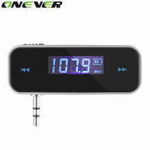 Onever FM Transmitter For Mobile Phone Tablet PC MP3/ MP4 Player Fm Modulator Car-charger Car-Styling