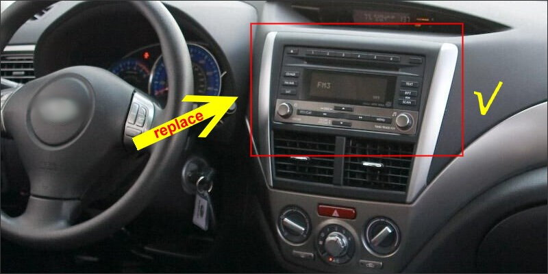 For Subaru Legacy Liberty 2009~2014-9