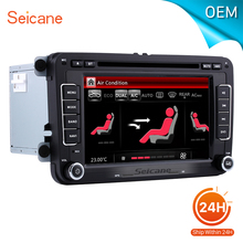 seicane 7 Universal Car Radio DVD Player GPS Navigation for 2008-2013 VW Volkswagen Passat CC With CANBUS Bluetooth support AUX(China)