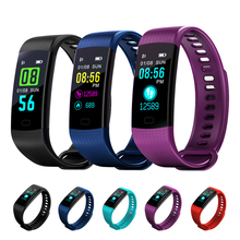 Y5 Smart Wristband Pedometer Smart Watch 2 Band Blood Pressure Heart Rate Monitor Fitness Bracelet Activity Tracker PK mi band 3