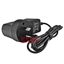 Portable DVD Charger Australian Standard DC Plug Power Adapter Supply 12V 1A 2 Pins Black 74*68*42mm Durable Wholesale