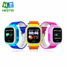 GPS Q90 Smart Watch Touch Clocks WIFI Location Children Baby SOS Call Finder Track gps Kid Safe Anti-Lost Monitor Device PK Q730(China)