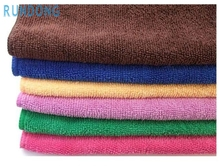 Auto 30*70cm Soft Microfiber Cleaning Towel Car Auto Wash Dry Clean Polish Cloth Dec14