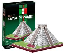 Supernova Sales Birthday gifts,educational puzzle toys,3D paper model,World Architecture series,Paper craft,Maya Pyramid
