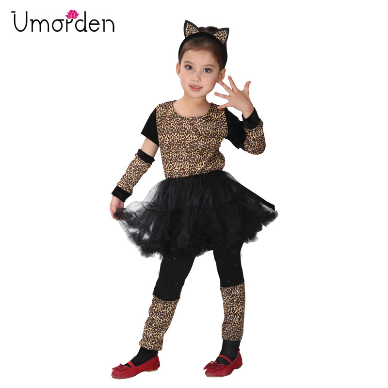 "Leopard Print 10/"" Tutu Skirt Wild Animal Fancy Dress Accessory"