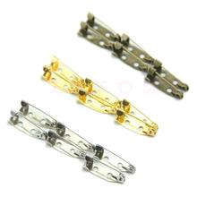 100pcs/lot 20mm DIY Safety Pins Brooch Jewelry Accessory