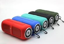 Waterproof  music box Bluetooth Speaker Wireless  Subwoofer Outdoor sport Bike  Portable Speaker TF  Hands-free Call nice gifts