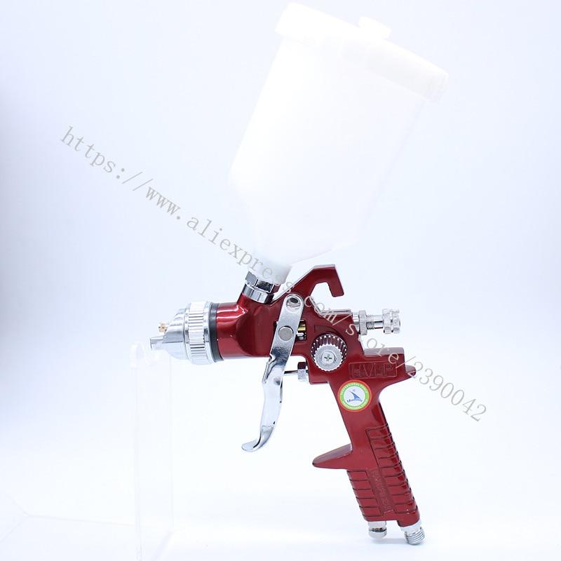 Hot Sale High Quality H827 Mini Spray Gun 600cc Gravity Feed Pneumatic Spray Gun Airbrush Air Spray Brush Tool Ejection Gun<br><br>Aliexpress