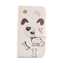 AIYINGE Book Design Flip PU Leather Case Mobile Phone Cover For Medion Life E5006 MD 60227 5''