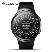 LEMFO LES2 Android 5.1 OS Smart Watch 1GB + 16GB Heart Rate Monitor Smartwatch Fitness Tracker GPS WIFI Google play Wristwatch