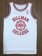 Stitched A Different World Dwayne Wayne 9 Hillman College Theater Basketball Jersey Red White S-3XL Free Shipping Viva Villa(China)