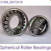 30mm Diameter Spherical Roller Bearings 21306 30mmX72mmX19mm ABEC-1 Machinery,reducer,rolling mill,crusher,vibrating screen,CNC
