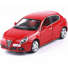 Brand New 1/32 Scale Car Toys Alfa Romeo 147 Diecast Metal Pull Back Car Model Toy For Gift/Collection/Kids