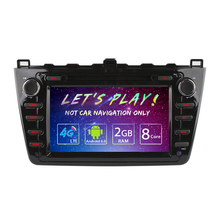 "8inch Android 6.0 (64bit) DDR3 2G/32G/4G LTE Octa Core 8""Car DVD GPS Radio Head Unit For Mazda6 (GJ;2008~2012) #AM4526"