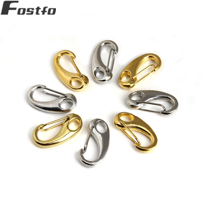 Sterling 925 Silver Heavy Carabiner Claw Clasp 11,13,15 /& 18mm Findings Beads.
