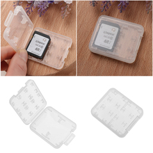 1PC 8 in1 Memory Card Case Hard Micro SD SDHC TF MS Protector Box Holder New Desk Sets School Stationery Office Supplies(China)