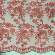 African Guipure Lace Fabric 2017 For Party African Lace Fabric In Sequines Panic Buying Hojilou Peach Guipure Lace Fabric