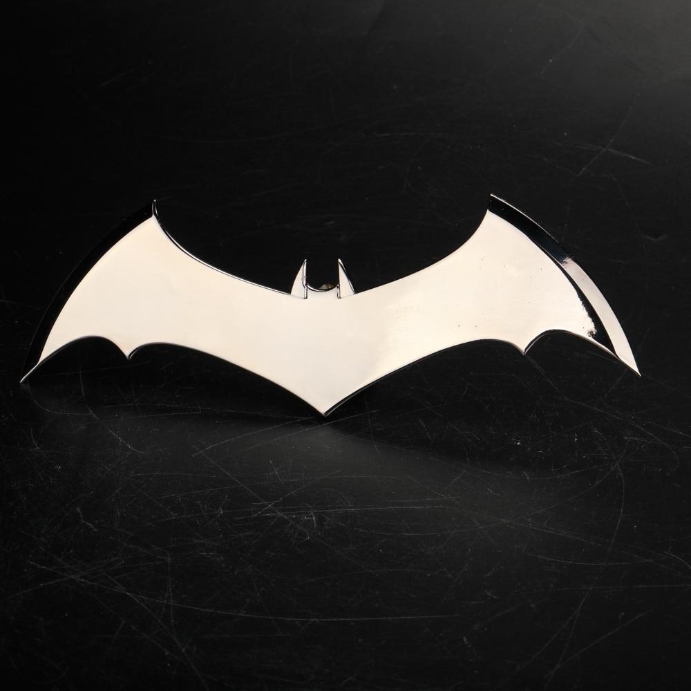 Shazam Batarangs Batman Dart Metal Batgirl Dart Superhero Weapon Cosplay Props (12)