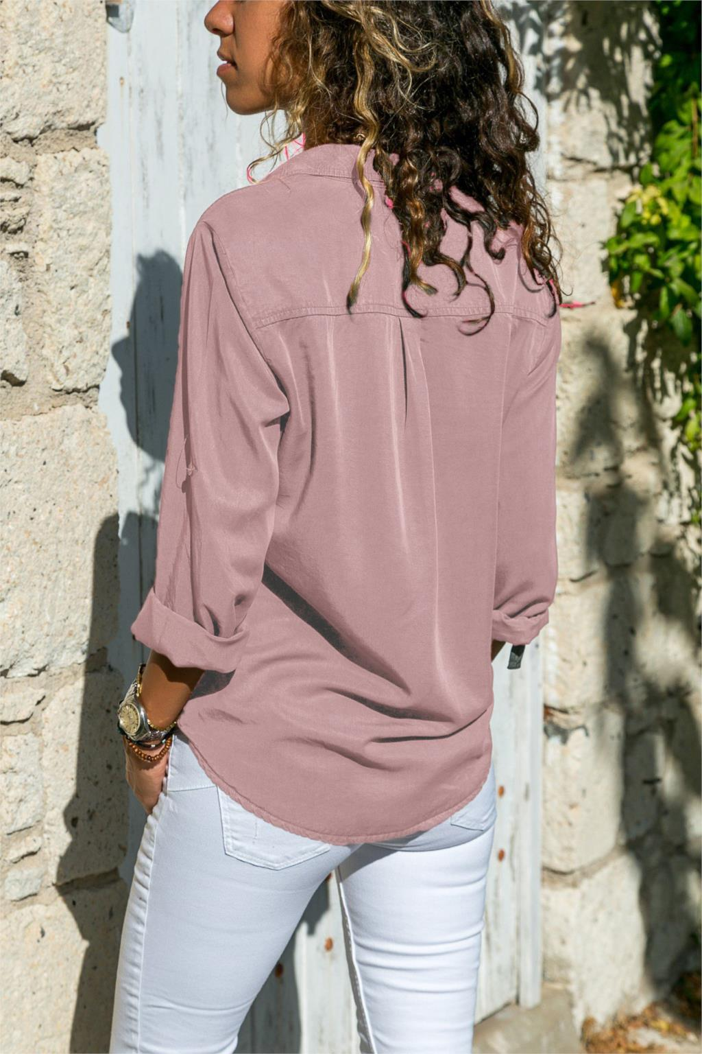 office blouse women plus size 5XL long sleeve blusas mujer de moda 2018 tallas grandes spring autumn shirt top women blouse8