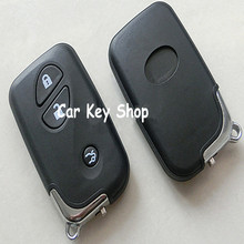 New Entry Keyless Remote Smart Key Shell Case For Lexus ES350 300 ES GS ISLSLX RX SC 3 Buttons With Blade