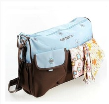 Carters Diaper's Bags for Baby Durable Mother Wet Bag Fashion Mummy Bag baby nappy bags carters(China)