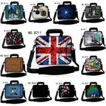 New Laptop Shoulder Bags 12 13 14 15 17 inch Tablet PC Bag Notebook Pouch Personalized Handles and outside pockets Design(China)