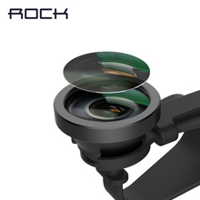 Rock Simpiz series Universal Clip Super 235 Degree Fish eye Fisheye Lens Camera For iPhone 6 6s Samsung and other Smarphones