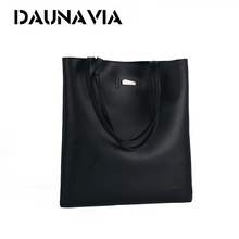 DAUNAVIA women bags pu leather messenger shoulder handbags fashion famous brand ladies bolsa female bags designer luxury ND039(China)