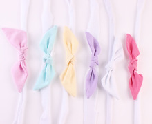 Wholesale Large Bow Headband for Baby Girl Hair Accessories Infant Baby Girls Head wraps Newborn Photo Prop 300pcs