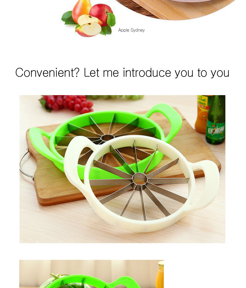 Watermelon Artifact Cut Fruit Split Function Cut Watermelon Melon Slice Cutter Convenient Kitchen Cooking Cutting Tools Cutter (8)