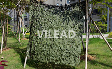 VILEAD 2.5M*4M Filet Camo Netting Green Digital Camouflage Netting Outdoor Sun Shelter Sniper Theme Party Decoration Car Covers