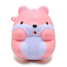 New Arrived 8CM Jumbo Cute Hamster Mouse Squishy Slow Rising Sweet Scented Soft Doll Phone Strap