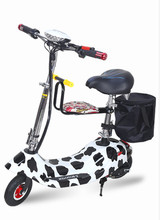 YK-36V12AH350  WSmall dolphin electric folding bicycle(lithium battery)