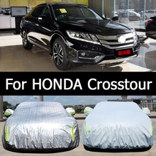 Hithotwin special-purpose automobile clothing sunscreen waterproof dustproof sunshading cover thick snow car For Honda Crosstour(China)