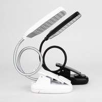 28 LED Reading Desk Lamp  Flexible USB Clip Table Light portable free shipping