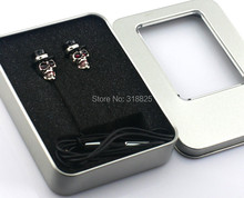 3.5mm Skull stylish with Hat Earpods In ear  Earplugs Earphone for Iphone MP3  ipod touch