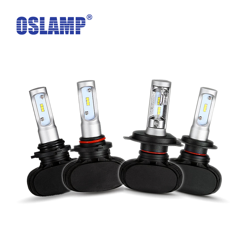 Oslamp Car Headlight Kits H4 H11 H13 9005/HB3 9006/HB4 H7 CREE Chips Far &amp; Near Led Headlight Bulbs Fanless Auto Fog Lamps 6500K<br><br>Aliexpress